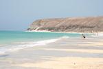 Playa Sotavento, sur l'île de Fuerteventura
